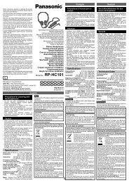 Deutsch Français English Specifications Technische Daten ...