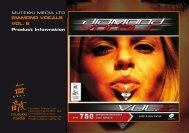 Mutekki Media - Diamond Vocals Vol. 2 - Loopmasters