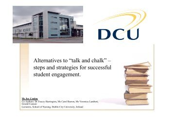 Learned a lot more than just lecture notes - Dublin City University