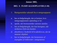 Januar 2002, DEL I: FLERVALGSOPGAVER (1-10) 1 ...