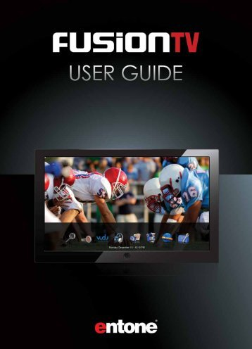 FusionTV User Guide