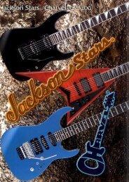 Jackson STARS 2005 Japan Only Catalog - Jackson® Guitars