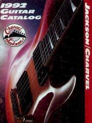Jackson Charvel 1992 - Jackson® Guitars