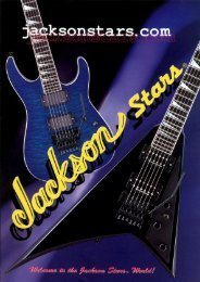 Jackson STARS 2004 Japan Only Catalog - Jackson® Guitars