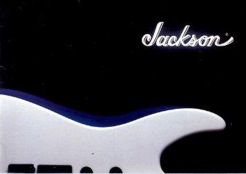Jackson 1988 Catalog - Jackson® Guitars