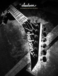 2013 Supplemental Guitar Brochure - Jackson® Guitars