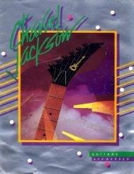 Charvel Jackson 1983 Catalog - Jackson® Guitars