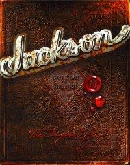 Jackson 2003 Catalog - Jackson® Guitars