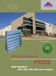 acoustic louvres - Stavoklima.cz