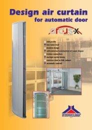 Design air curtain Design air curtain Design air curtain - VTPrincips