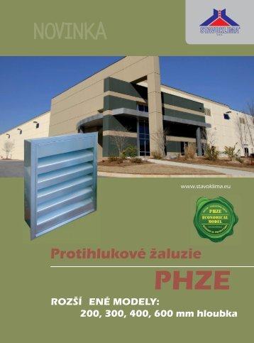 Katalog PHZE - Stavoklima.cz