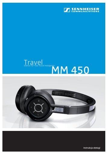 Instrukcja obsługi MM 450 - Aplauz