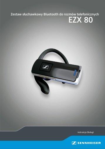 Instrukcja obsługi Sennheiser EZX 80 - Aplauz