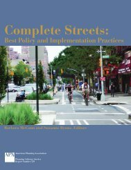 Complete Streets: - American Planning Association