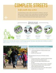 COMPLETE STREETS - Active Transportation Policy