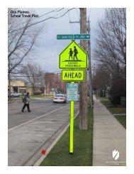 Des Plaines School Travel Plan - Active Transportation Policy