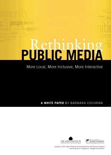 """Rethinking Public Media"" (PDF). - Current.org"