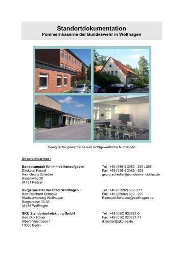 Standortdokumentation - GKU Standortentwicklung GmbH
