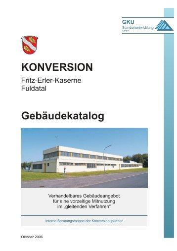 KONVERSION Gebäudekatalog - GKU Standortentwicklung GmbH
