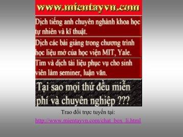 Mạng điện - Mientayvn.com