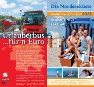 Nordsee- Service Card - Nordseebad Dangast