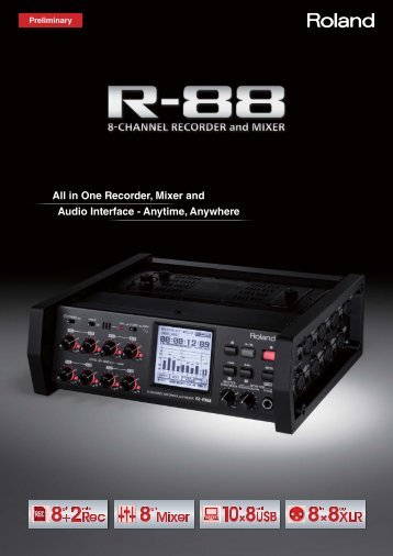 R-88 Brochure - Roland Systems Group