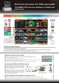 Multi-Format, Realtime Video Playback - MultiNET - Page 2