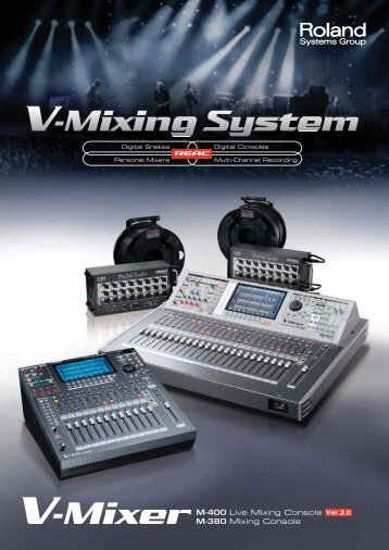V-Mixing System Brochure - Roland Systems Group
