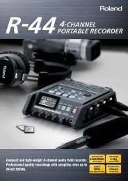 R-44 Brochure - Roland Systems Group