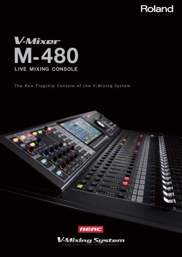 M-480 Brochure - Roland Systems Group
