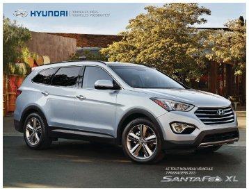 santa Fe XL 2013 - Hyundai Canada
