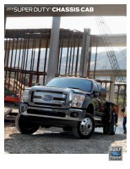 2013 super duty® chassis cab - Ford