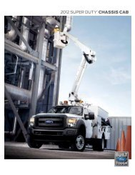 2012 super duty® chassis cab - Zender Ford