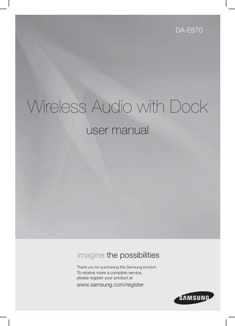 Wireless Audio with Dock - Appliances Online