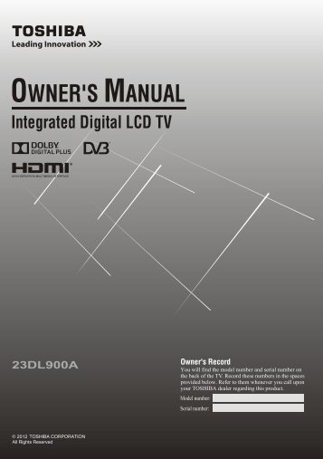 Owner's Manual - Appliances Online