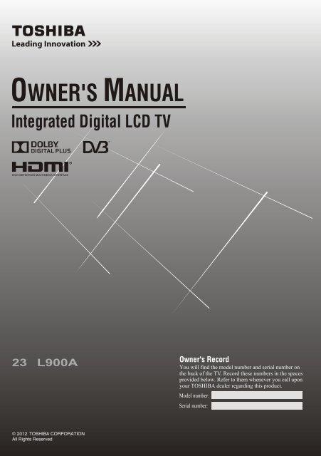 Owner's Manual - Appliances Online