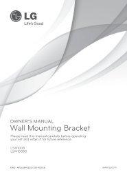 Wall Mounting Bracket - Appliances Online