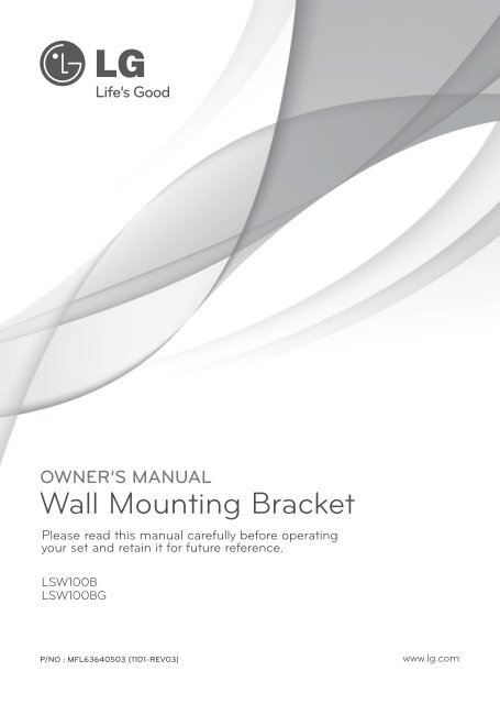 Wall Mounting Bracket - Appliances Online