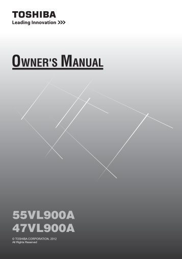 Download manual - Toshiba