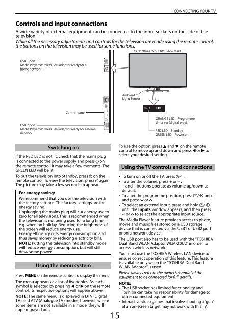 Download manual - Toshiba