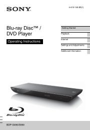 Blu-ray Disc™ / DVD Player - Appliances Online