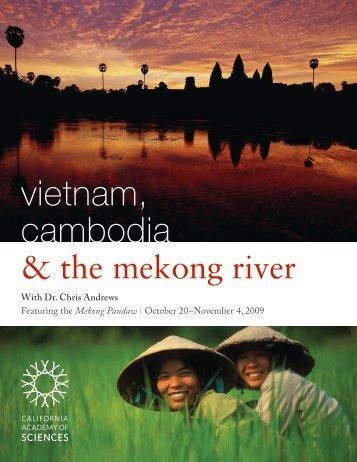 vietnam, cambodia - California Academy of Sciences