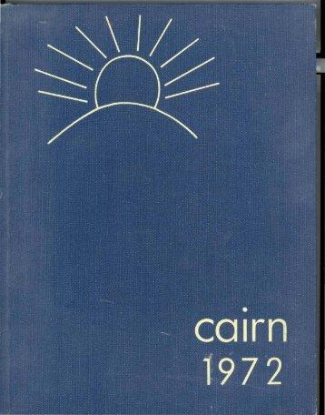 Cairn 1972 - College of Saint Joseph