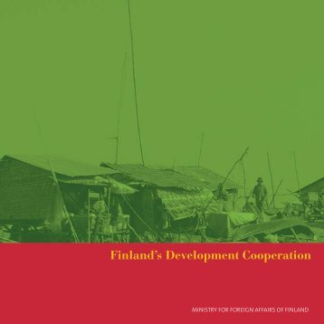Finland's Development Cooperation - Isdacon | Index page