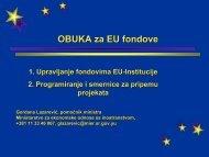 OBUKA za EU fondove