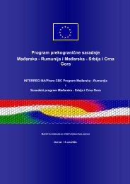 Program prekogranične saradnje Mađarska - Rumunija i Mađarska