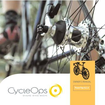 OWNER'S MANUAL - Cyclecomponents