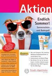 Download des Aktionsblattes als PDF - Stadt-Apotheke Waldkirch