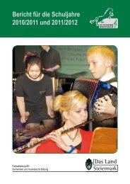 Bericht für die Schuljahre 2010/2011 und 2011 ... - Bad Radkersburg
