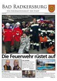 Die Feuerwehr rüstet auf - Region Bad Radkersburg